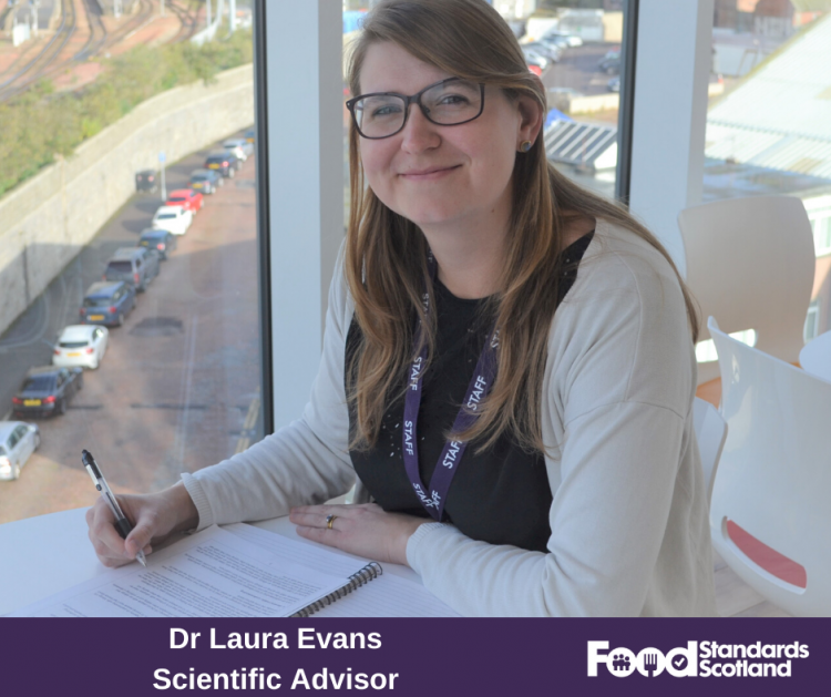 Laura Evans, Scientific Advisor at Food Standards Scotland