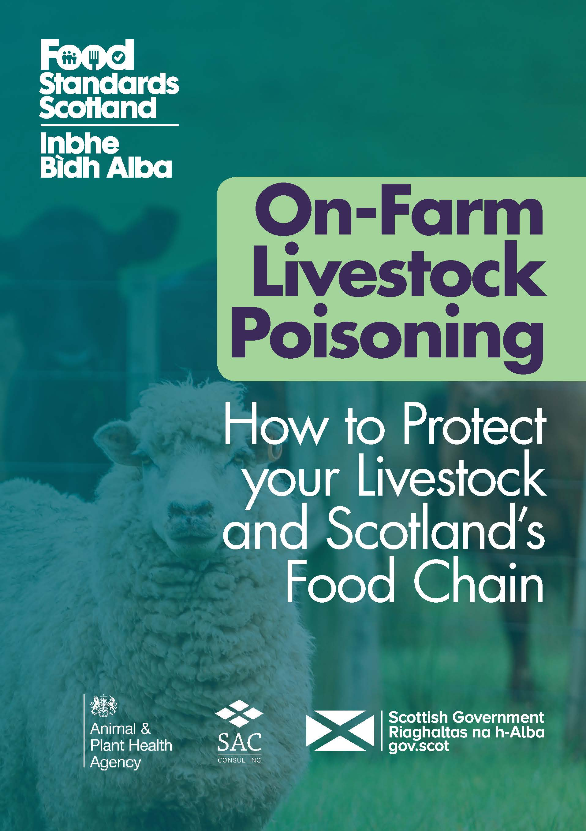 Food Standards Scotland On Farm Poisoning leaflet cover