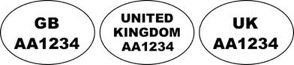 example id marks to be applied to packaging post brexit