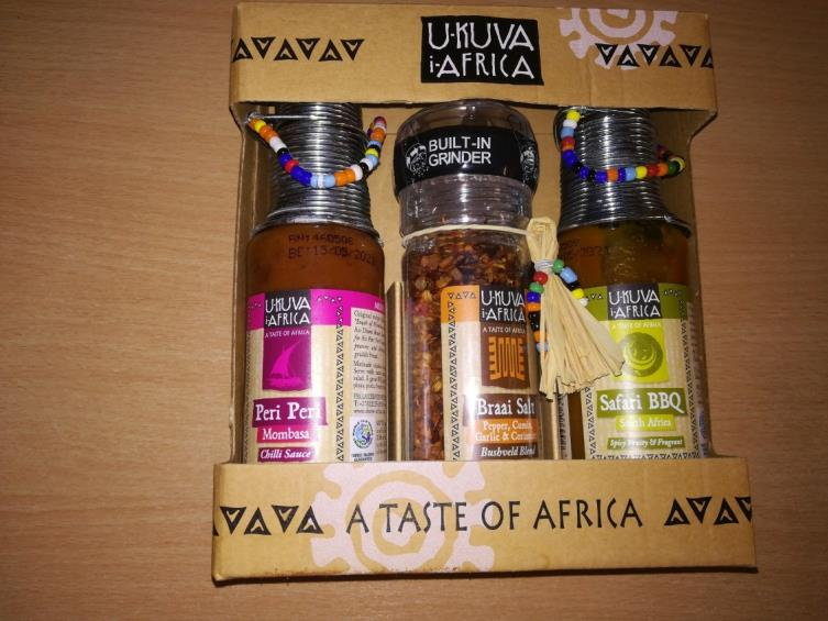 Peri Peri Mombasa Chilli Sauce 125ml gift set recalled due to production fault